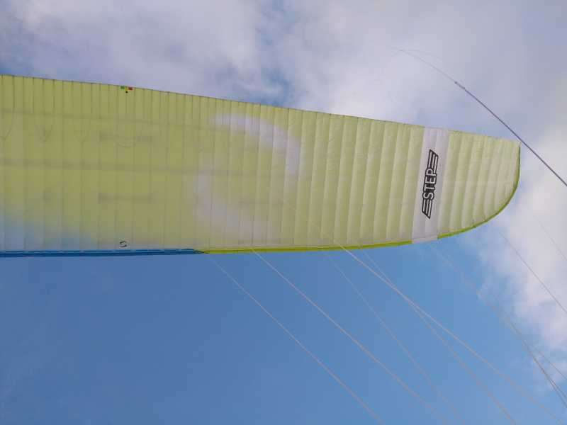 Voile parapente B+ SUPAIR STEP S Earth (70-90kg)